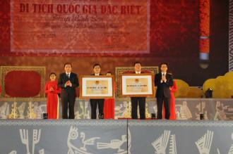 Tây Thiên Tam Đảo nhận bằng di tích quốc gia đặc biệt