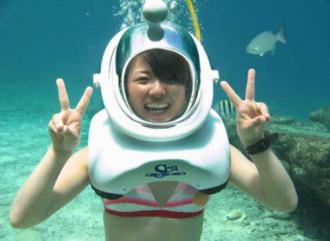 Cù Lao Chàm mở dịch vụ đi bộ dưới đáy biển