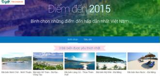 Lần đầu bình chọn điểm đến hấp dẫn nhất Việt Nam