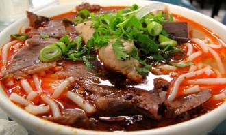 Bún bò Huế - Món ăn được người Sài Gòn ưa thích