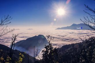 Đỉnh núi Muối đẹp mơ mộng, thần kỳ với 'đại dương mây'