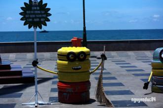 Minions mang thông điệp vì môi trường ở Vũng Tàu