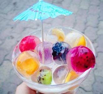 Chè thạch trái cây pha lê mát lạnh cho ngày hè
