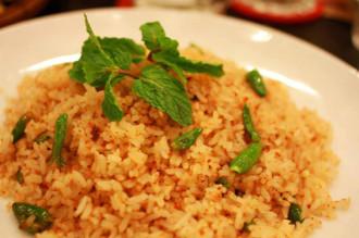 Thơm ngon, cay nồng với cơm chiên muối ớt xanh Nha Trang