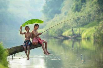 Thực hiện thú vui câu cá tại các điểm hấp dẫn quanh Hà Nội