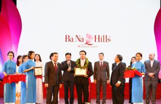 Bà Nà Hills nhận danh hiệu 'Khu du lịch hàng đầu Việt Nam'