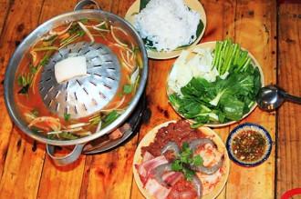 Thưởng thức món lẩu nướng độc đáo đất Sài Gòn