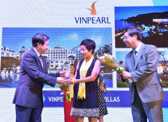 Vinpearl đạt top 10 thương hiệu du lịch nghỉ dưỡng tốt nhất